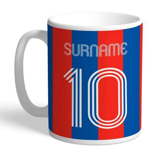 Crystal Palace FC Retro Shirt Mug