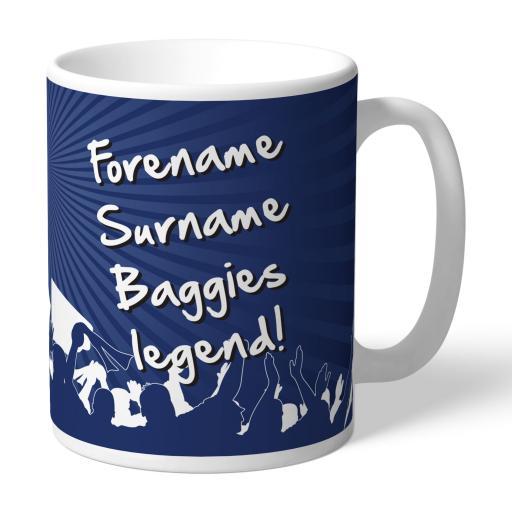 West Bromwich Albion FC Legend Mug