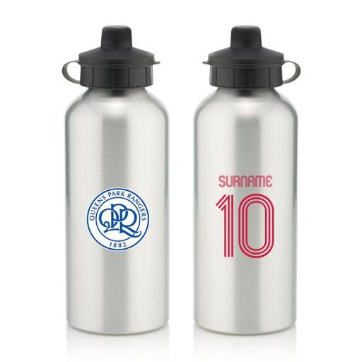 Queens Park Rangers FC Retro Shirt Water Bottle
