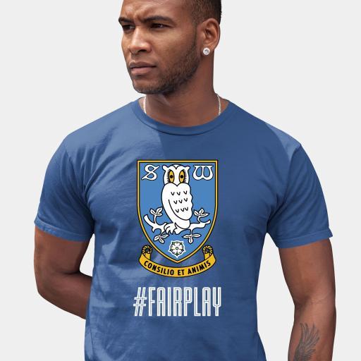Sheffield Wednesday FC Fair Play Men's T-Shirt - Blue