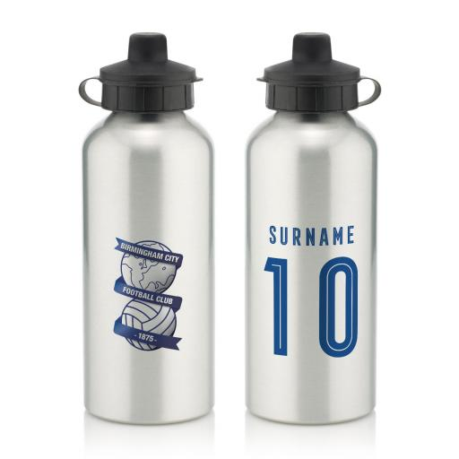 Birmingham City Retro Shirt Water Bottle