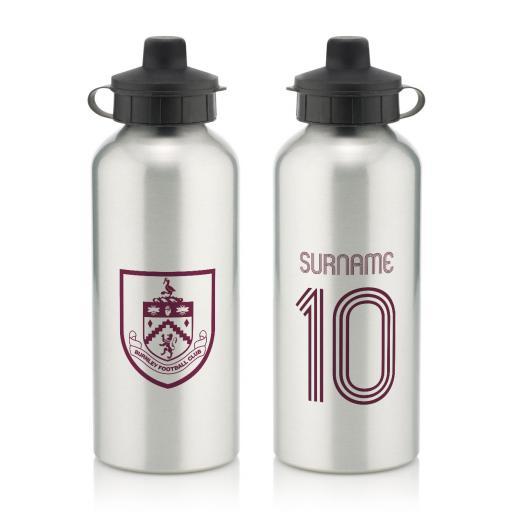 Burnley FC Retro Shirt Water Bottle