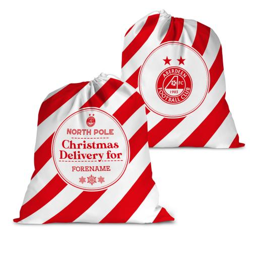Aberdeen FC Christmas Delivery Santa Sack