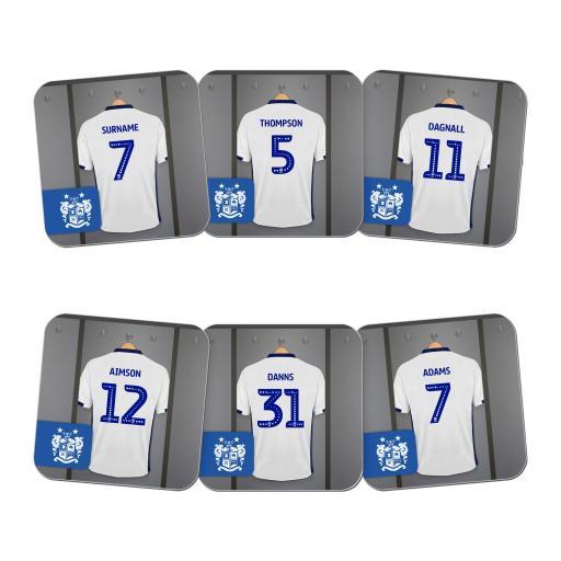 Bury FC Dressing Room Coasters