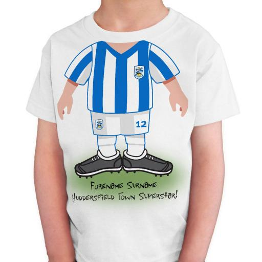 Huddersfield Town Kids Use Your Head T-Shirt
