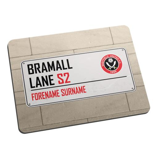 Sheffield United FC Street Sign Mouse Mat