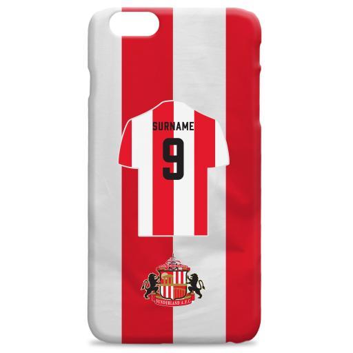 Sunderland AFC Shirt Hard Back Phone Case