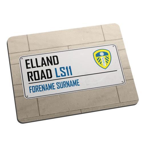 Leeds United FC Street Sign Mouse Mat