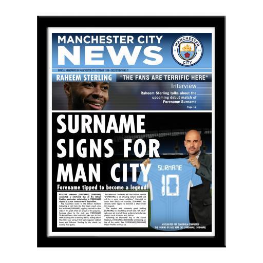 Manchester City FC News