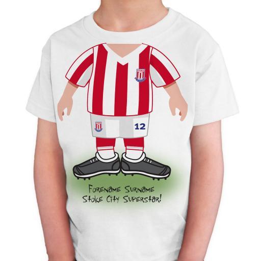 Stoke City FC Kids Use Your Head T-Shirt