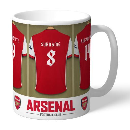 Arsenal FC Dressing Room Mug