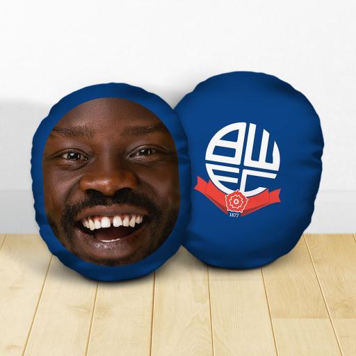 Personalised Bolton Wanderers FC Crest Mush Cush