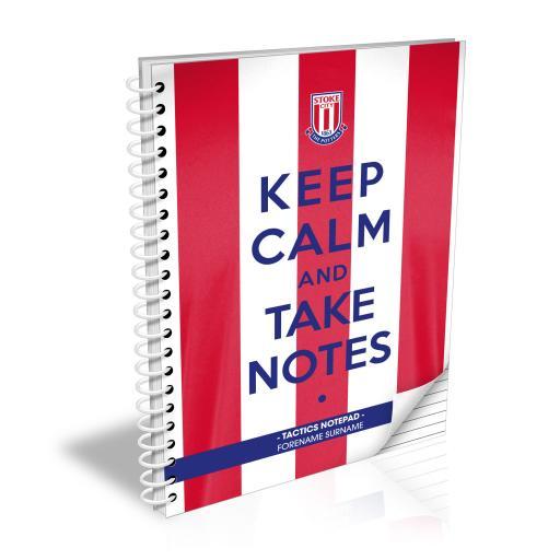 Stoke City FC Keep Calm Notebook