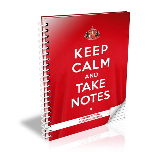 Sunderland AFC Keep Calm Notebook