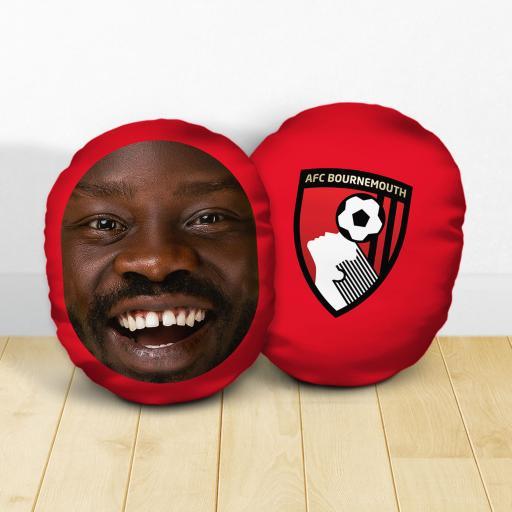 Personalised AFC Bournemouth Crest Mush Cush