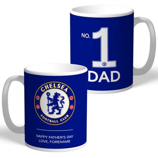 Chelsea FC No.1 Dad Mug