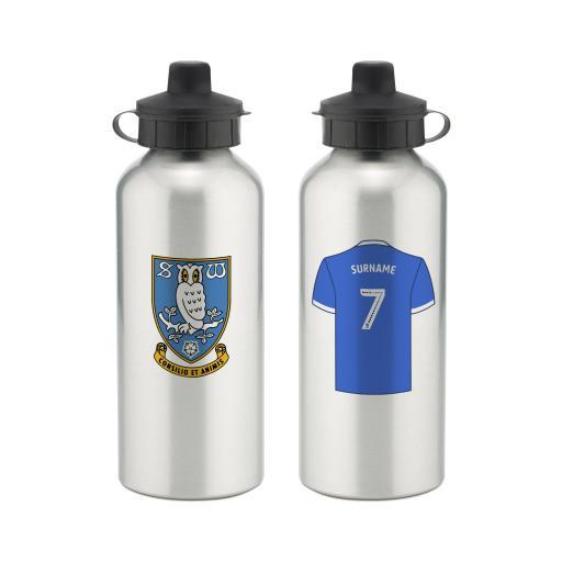 Sheffield Wednesday FC Aluminium Water Bottle