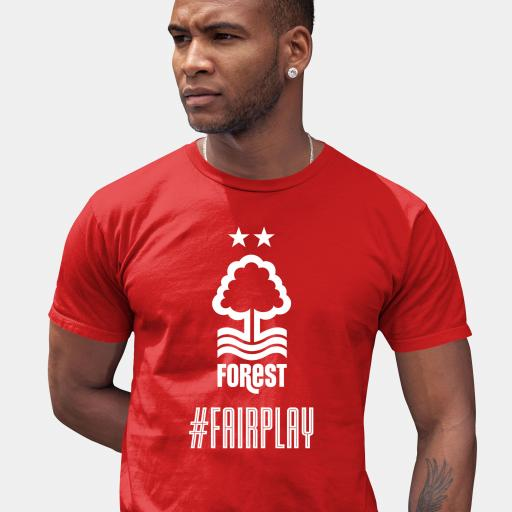 Nottingham Forest FC Fair Play Men's T-Shirt - Red