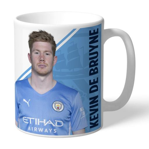 Manchester City FC De Bruyne Autograph Mug