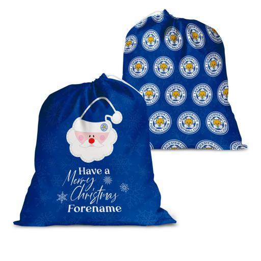 Leicester City FC Merry Christmas Santa Sack