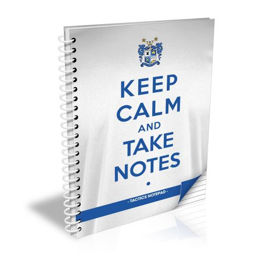 Bury FC Keep Calm Notebook