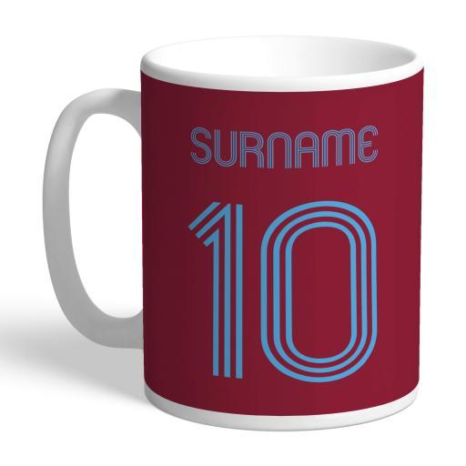 West Ham United FC Retro Shirt Mug
