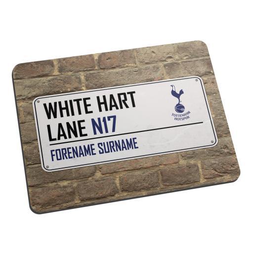 Tottenham Hotspur Street Sign Mouse Mat