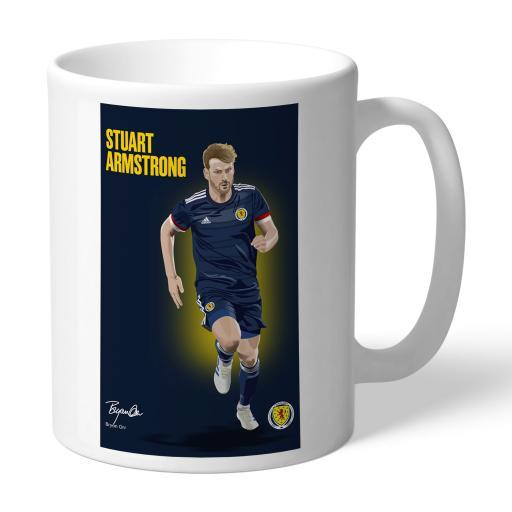 Scotland Armstrong Art Mug