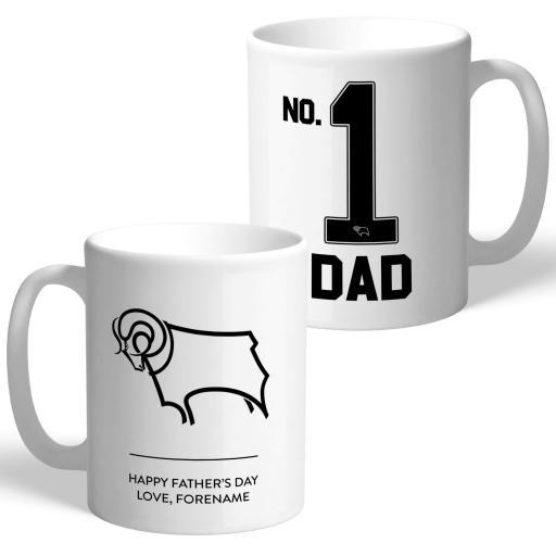 Derby County FC No.1 Dad Mug