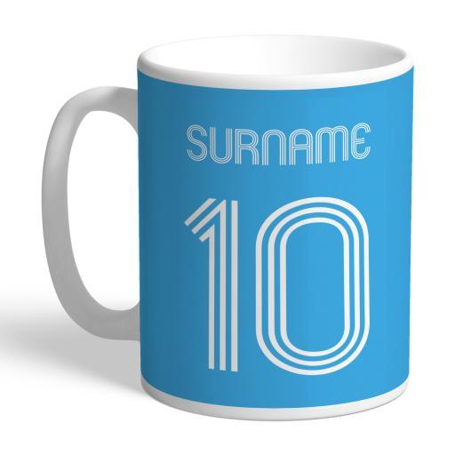 Manchester City FC Retro Shirt Mug