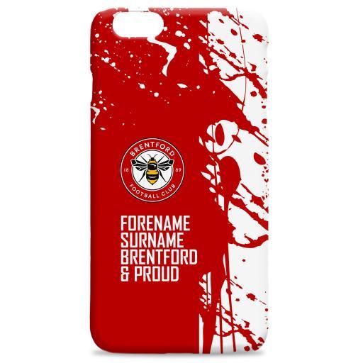 Brentford FC Proud Hard Back Phone Case