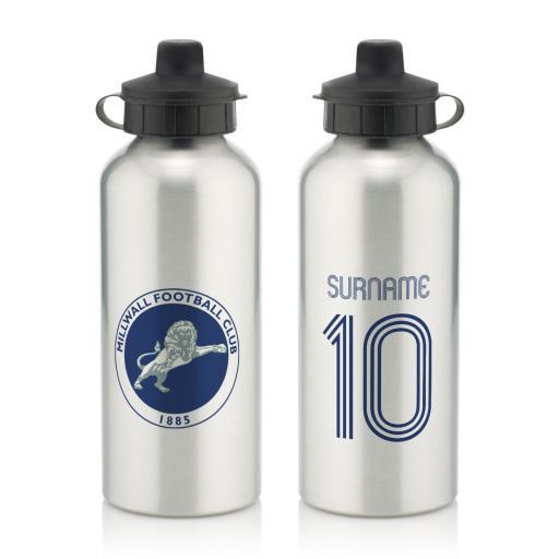 Millwall Retro Shirt Water Bottle