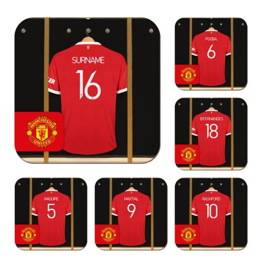 Manchester United FC Dressing Room Coasters