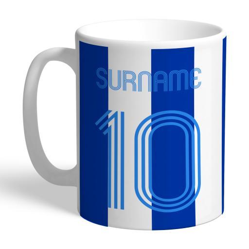 Brighton & Hove Albion FC Retro Shirt Mug