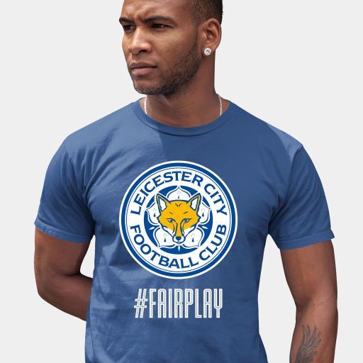 Leicester City FC Fair Play Men's T-Shirt - Blue