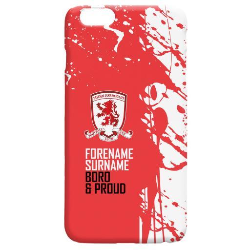 Middlesbrough FC Proud Hard Back Phone Case