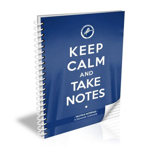 Millwall FC Keep Calm Notebook