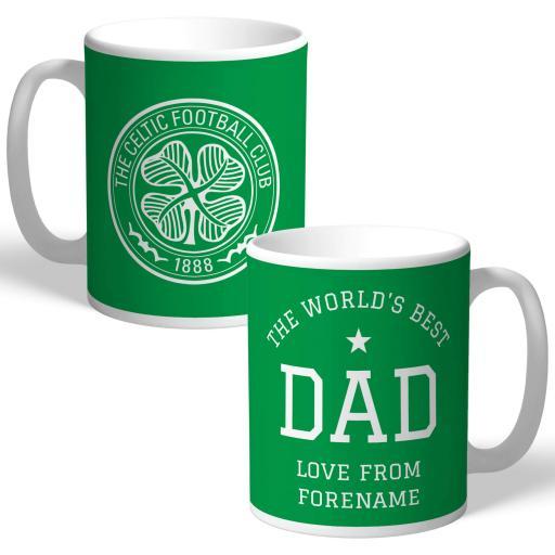 Celtic FC World's Best Dad Mug