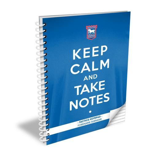 Ipswich Town FC Keep Calm Notebook