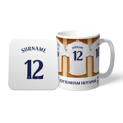 Tottenham Hotspur Dressing Room Mug & Coaster Set