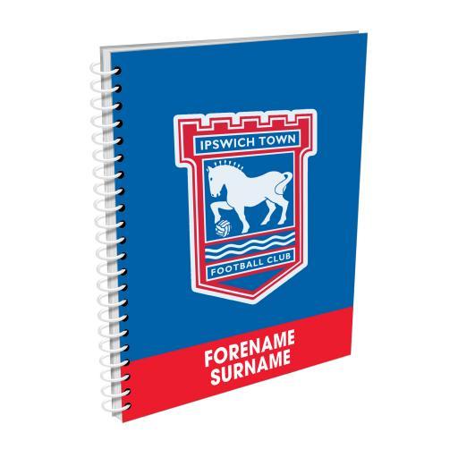 Ipswich Town FC Bold Crest Notebook