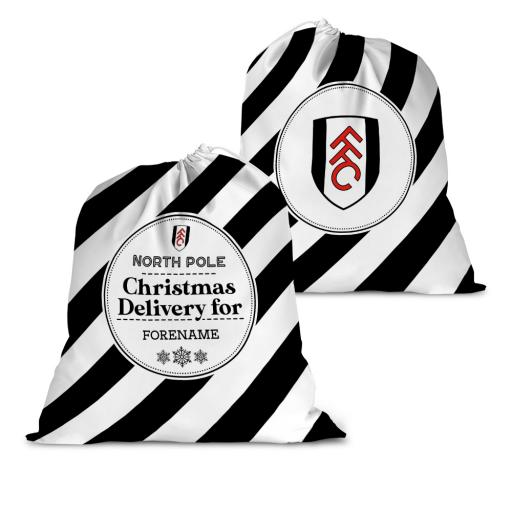 Fulham FC Christmas Delivery Santa Sack