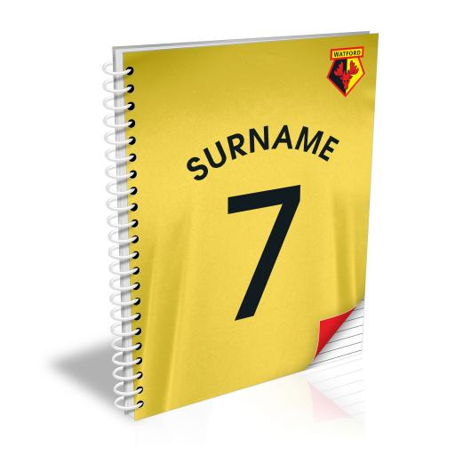 Watford FC Shirt Notebook