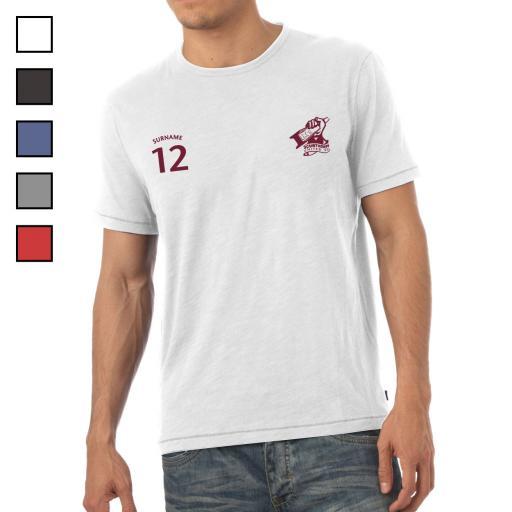 Scunthorpe United FC Mens Sports T-Shirt