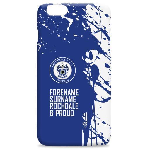 Rochdale AFC Proud Hard Back Phone Case