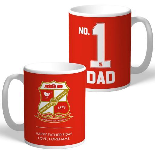 Swindon Town FC No.1 Dad Mug