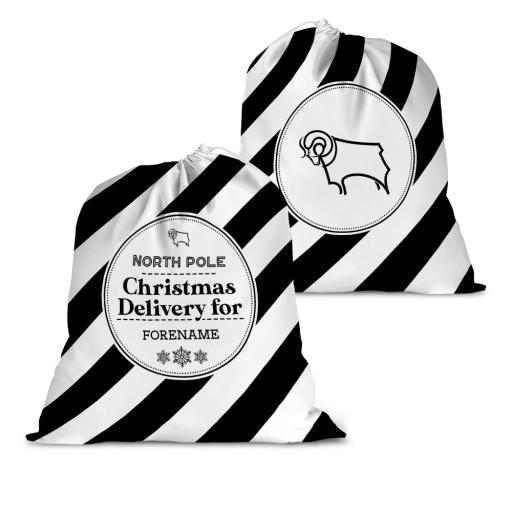 Derby County Christmas Delivery Santa Sack