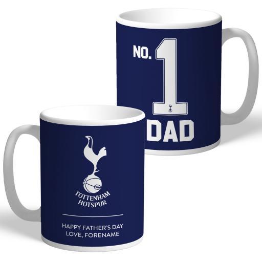 Tottenham Hotspur No.1 Dad Mug