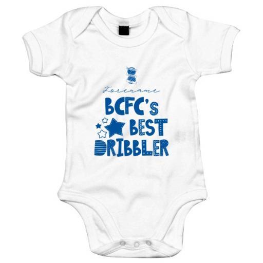 Birmingham City FC Best Dribbler Baby Bodysuit