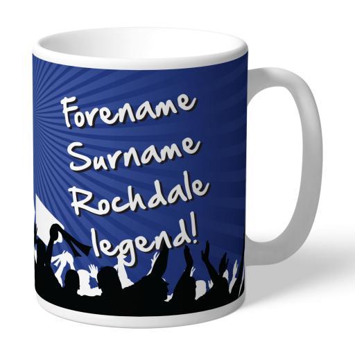 Rochdale AFC Legend Mug